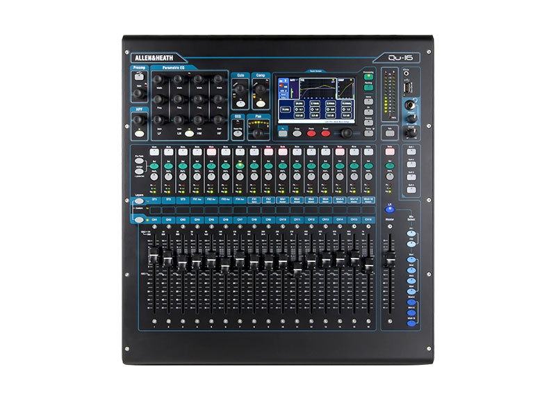 Allen & Heath Qu-16 Digital Audio Mixing Desk