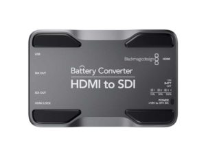 Blackmagic Design HDMI to SDI Battery Mini Converter Hire