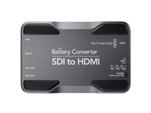 Blackmagic Design SDI to HDMI Battery Mini Converter Hire