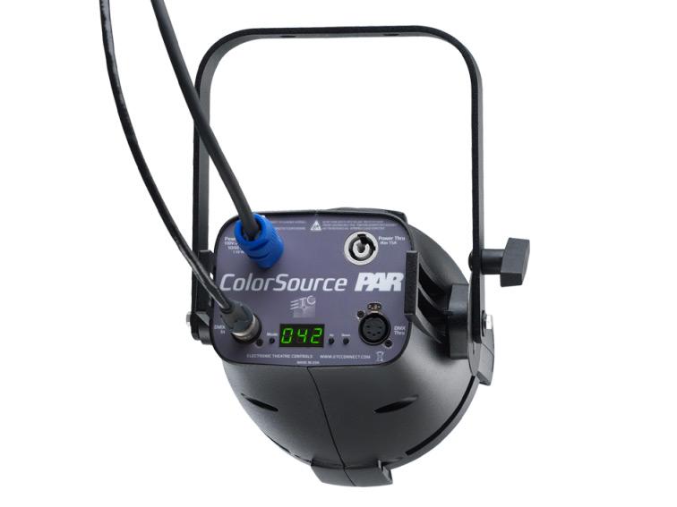 ETC ColorSource PAR LED Light Rear