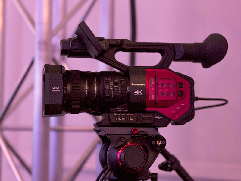 Panasonic AG-DVX 200 Camera Hire at a conference