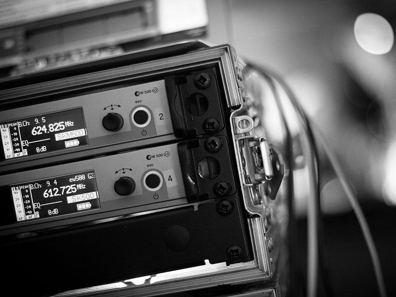 Sennheiser EM 500 G3 Radio Microphone Receiver Hire
