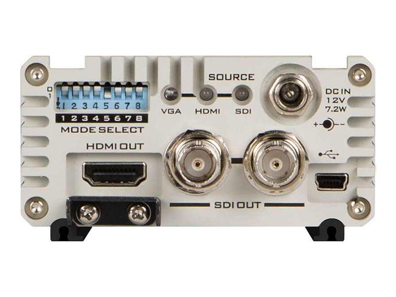 Datavideo DAC-70 Up / Down / Cross Converter Rear Hire