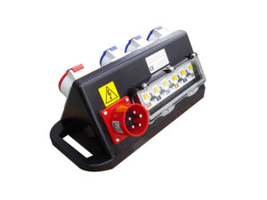 Rubber Box RUBETR6 32A Power Distribution Hire