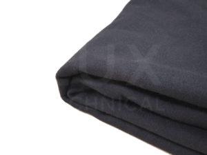 1.5m x 4m Black Wool Serge Drape Hire
