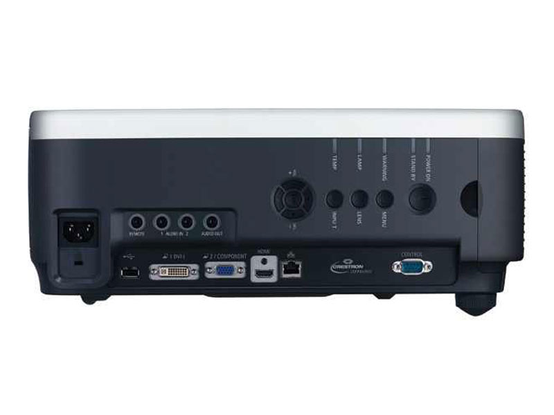 Canon XEED WUX6000 Projector Hire Inputs / Outputs