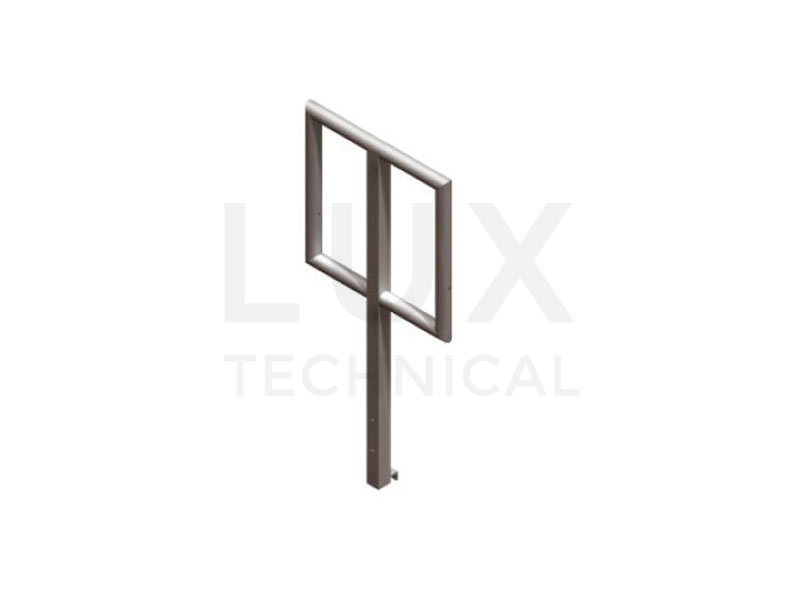 Prolyte LiteDeck 2ft Handrail Section Hire