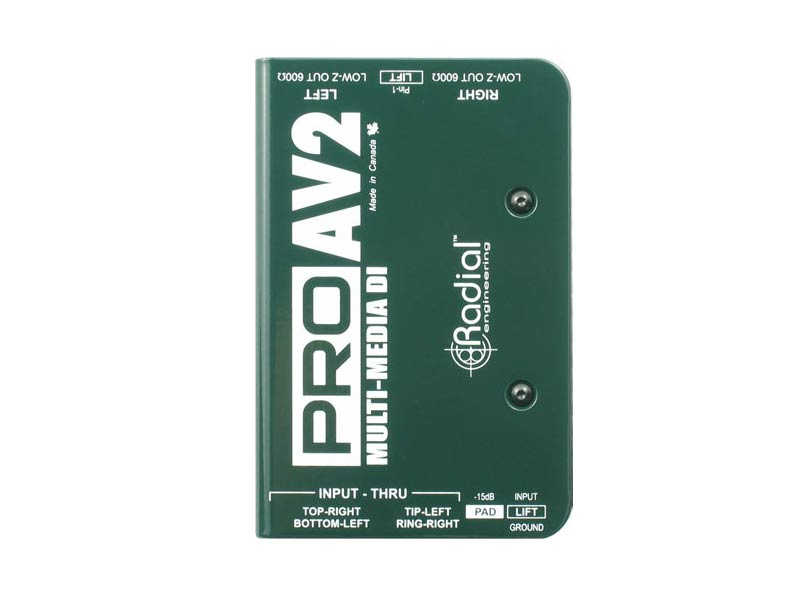 Radial ProAV2 Multimedia DI Box Hire