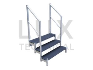 LiteDeck 3 Step Tread Unit Hire