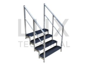 LiteDeck 4 Step Tread Unit Hire
